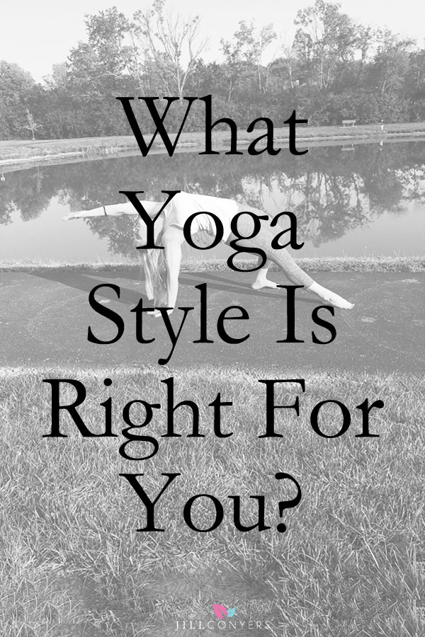 Yoga is not a one style fits everyone all the time experience. There are so many styles and variations of yoga and finding the right one for you might make the difference between a lifelong beautiful practice or rolling up your yoga mat for good. When looking for a style that is right for you, consider your reason for practicing. Think about and feel what your body and mind need on a given day. Maybe you're looking for a hot sweaty workout or you're looking for restorative benefits. Maybe you need a spiritual experience with a compassionate approach. @jillconyers http://jillconyers.com