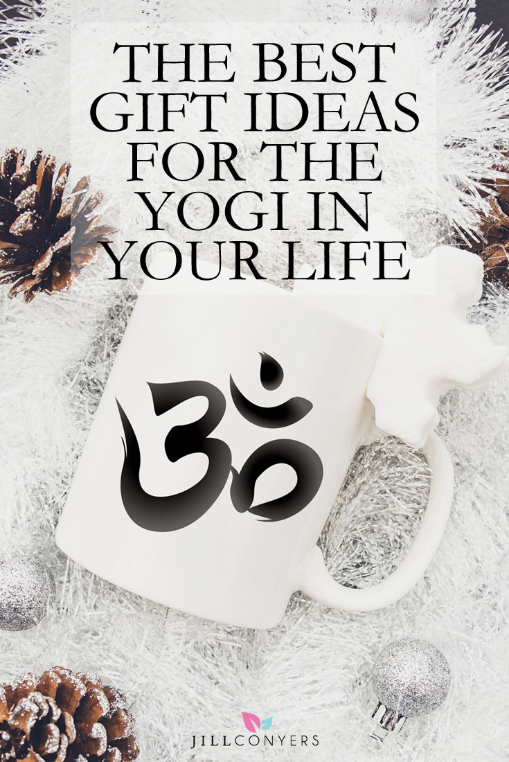 Holiday shopping made easy with the best yoga gift ideas. Give the gift of yoga to support a loved one's yoga practice or to introduce a loved one to the practice. Click through for ideas to delight the yogi in your life this holiday season. Pin it now to have gift ideas all year long. @jillconyers