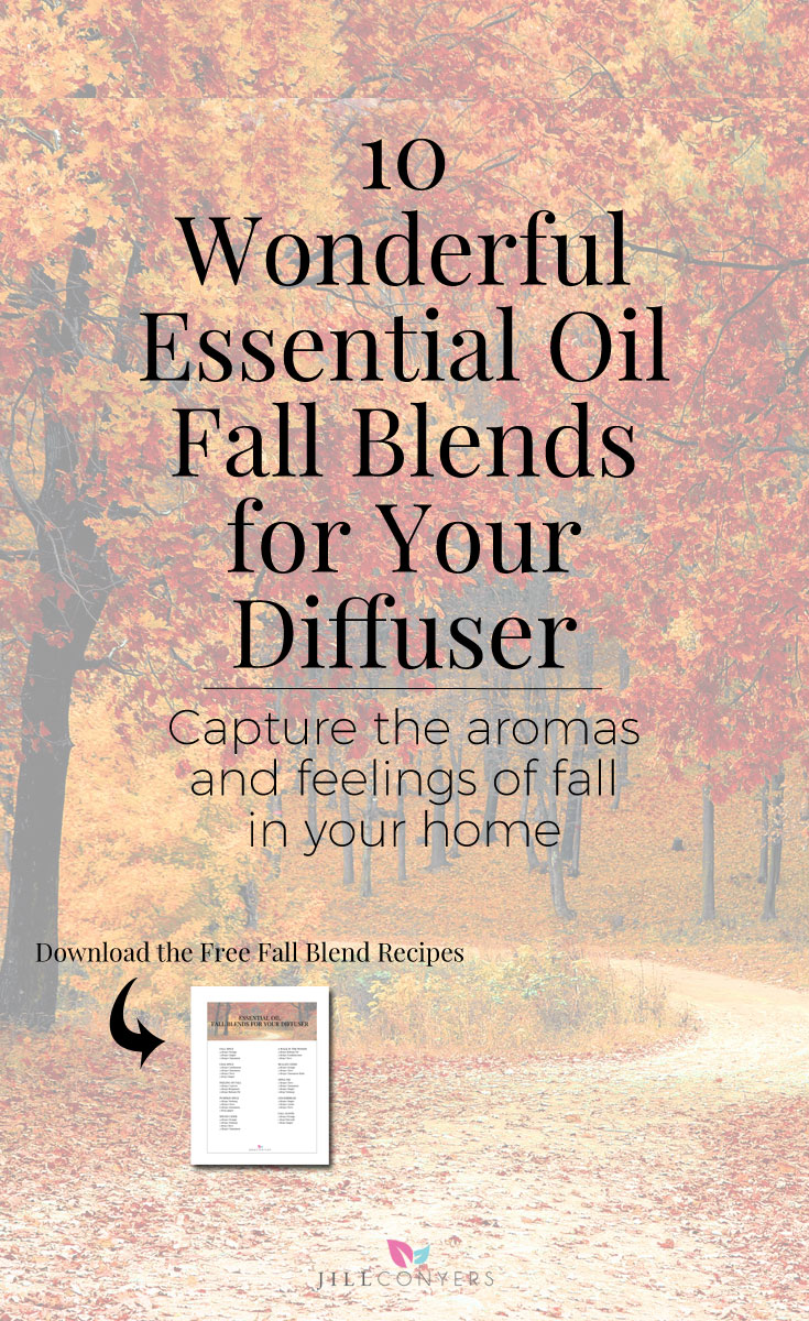 Celebrate all the things we love about fall with essential oil fall diffuser blends for physical and emotional health and wellness. Use the aromatic qualities and seasonal aromas of essential oil diffuser blends to capture the aromas and feelings of fall in your home. Click through to download the free diffuser blend recipes. Pin it now, share it with a friend. #essentialoils #fall #wellness #healthyliving #naturalliving #bestlife #selfcare