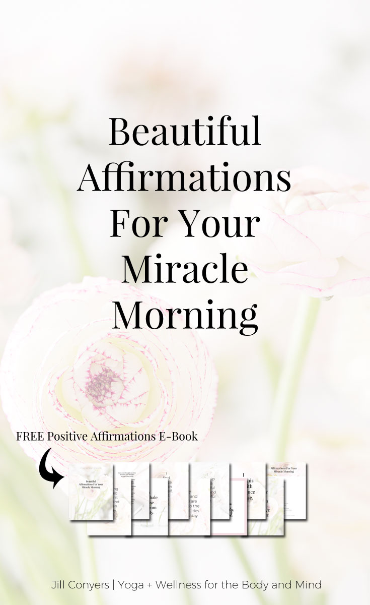 You can create a MIRACLE MORNING with these tools and tips. With negative thoughts we can talk ourselves into believing that we are not good enough. Affirmations can help you to challenge and overcome self-sabotaging and negative thoughts. Ready to create a MIRACLE MORNING? Click through to download the Miracle Morning Affirmations E-Book. #miraclemorning #selflove #selfcare #quotes #believe #bestlife #affirmations