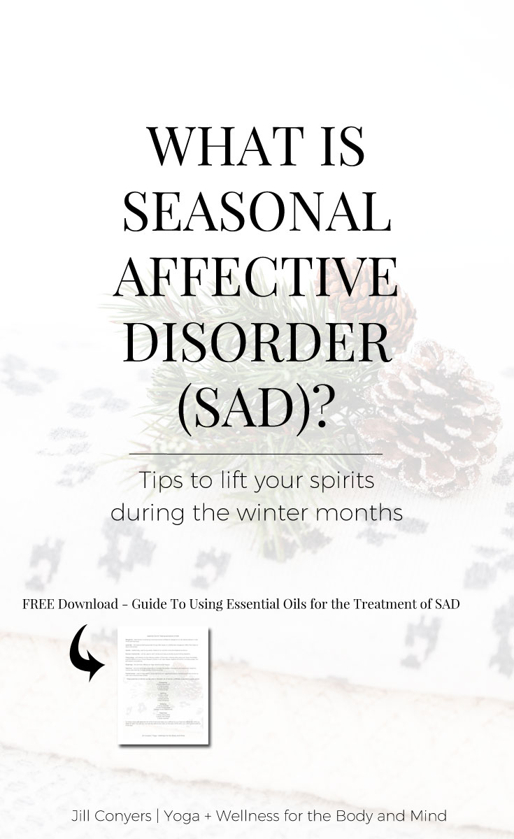 Do you have the Winter Blues? Onset of symptoms is typically occurs in the fall and continues through the winter months, right? How you're feeling may be Seasonal Affective Disorder, or SAD. The good news is natural remedies can be used to help treat SAD. Click through to lift your spirits during the winter months. #wellness #winter #SAD #seasonalaffectdisorder #wellbeing #selfcare