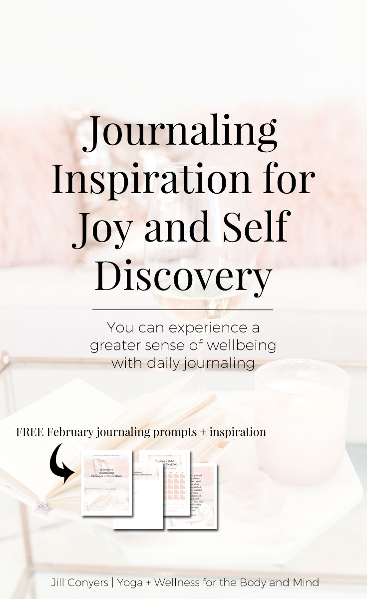 Journaling is ais a judgment free zone to write about who you are and the things that are important to you. Putting thoughts and ideas on paper helps create a deeper self awareness and a mindset of clarity. Click through and download the February journaling prompts and inspiration. Check back every month for more journaling prompts to inspire a new habit. #quote #journaling #wellness #selfcare #mindfulliving