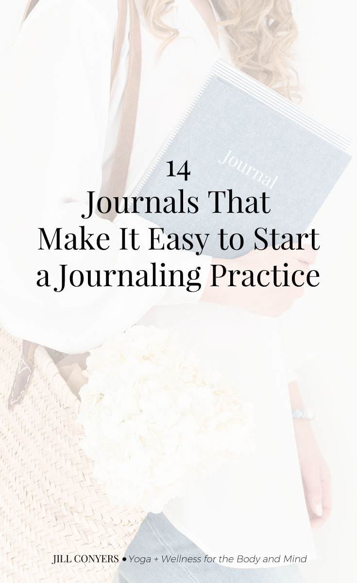 Guided journals make journaling more fun, easier to start and less intimidating especially if you're just beginning a journaling practice. #journaling #journal #wellness #selfcare #wellbeing