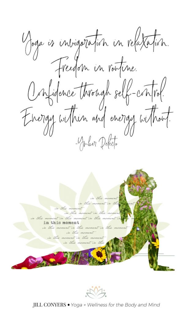 Yoga Quotes To Inspire Your Practice and Life. Find inspiration and wisdom in the connection of body and mind. Click through to download the free yoga printables. #yoga #yogajourney #yogaquotes #yogainspiration #quotes